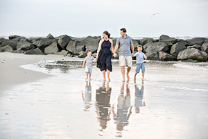 christine, matthew + boys - ocean city nj