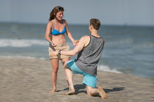 kaitlyn + ralph - proposal longport beach