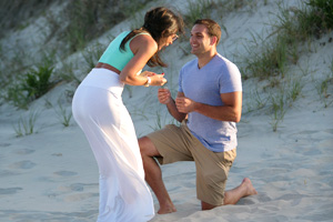 brittany + greg - proposal in brigantine nj