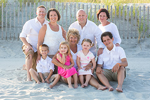 gina + family - north wildwood, nj