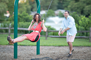 megan + brandon - esession haddonfield nj